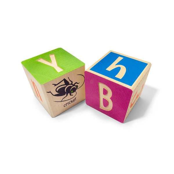 Uncle Goose Bugs Multi Colour ABC Blocks - Bloxx Toys - Toronto Online Toys Store - 1