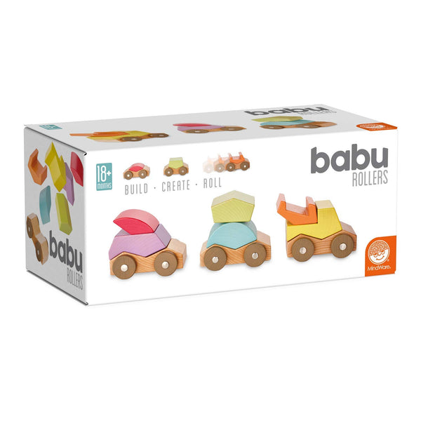 Babu Rollers kid-friendly and educational toy