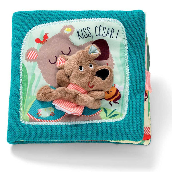 Baby Book Kiss Cesar - By Liliputiens - BloxxToys Canada