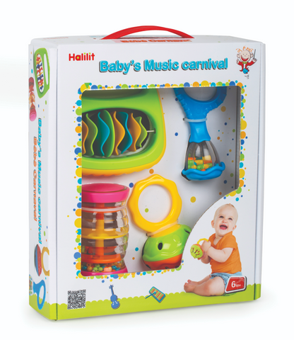 Baby's Music Carnival Educational Musical Toy Set by By Halilit
