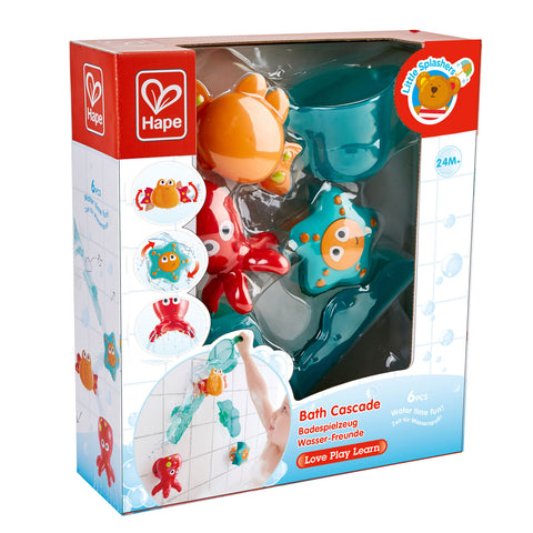Bath Cascade By Hape - Bloxx Toys - Toronto, Montreal, Vancouver, Alberta, Edmonton, Kids, Parents, Present, Shopping online, Ontario, Quebec, - Educational Online Toys Store Canada