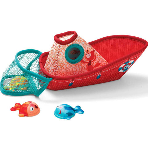 Bath fun - Fishing boat - By Lilliputiens - BloxxToys Canada