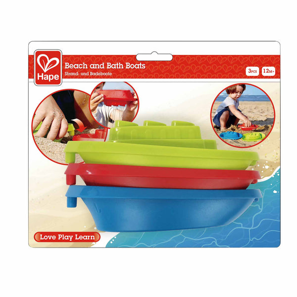 Beach and Bath Boats By Hape | BloxxToys Canada
