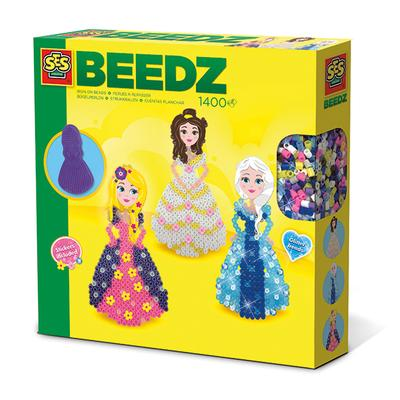 Beedz-Iron on beads princesses kid-friendly and educational toy