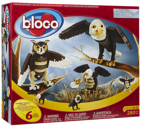 Birds of Prey Foam Building Blocks By Bloco - Bloxx Toys - Toronto Online Toys Store - 1