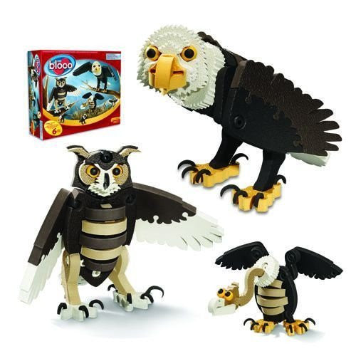 Birds of Prey Foam Building Blocks By Bloco - Bloxx Toys - Toronto Online Toys Store - 2