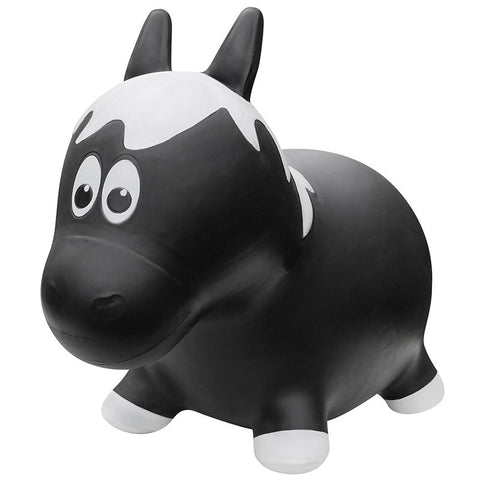 Farm Hoppers Animal Bouncers - Jumping Horse - Black