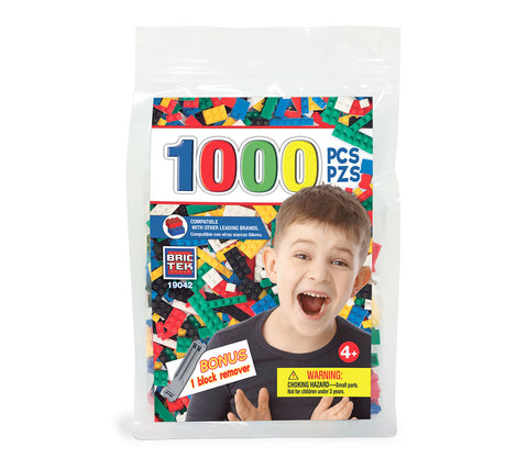 1000 assorted pcs bag / by Brictek