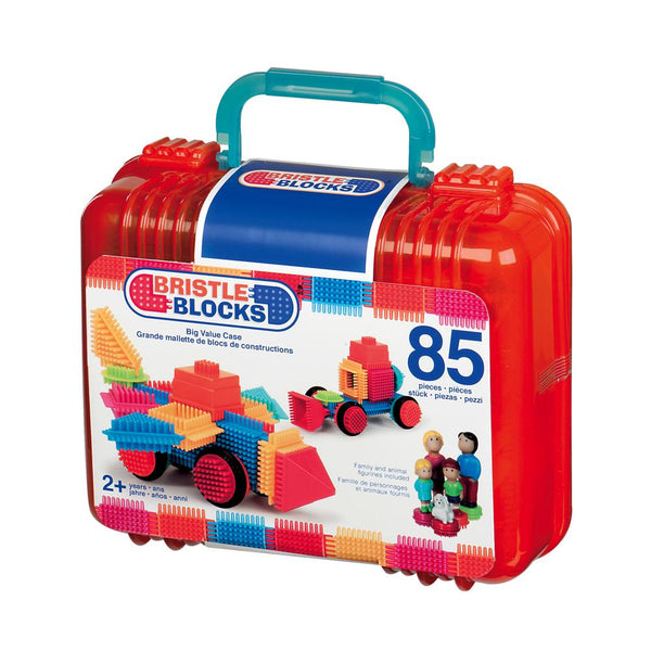 Bristle Blocks - Big Value case 85 pieces By Battat - Bloxx Toys - Toronto, Montreal, Vancouver, Kids, Building Toys, Shopping online, Ontario, Quebec, - Educational Online Toys Store Canada