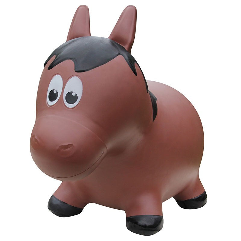 Farm Hoppers Animal Bouncers - Jumping Horse - Brown
