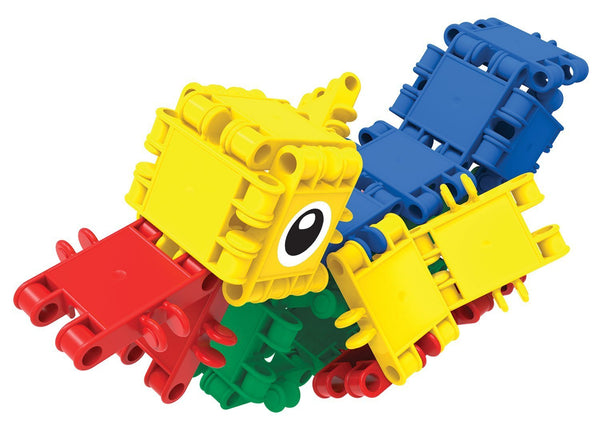 Bucket 8 in 1-160/pcs Bucket Building Blocks By Clics - Bloxx Toys - Toronto Online Toys Store - 10