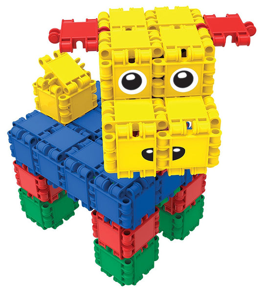 Bucket 8 in 1-160/pcs Bucket Building Blocks By Clics - Bloxx Toys - Toronto Online Toys Store - 2