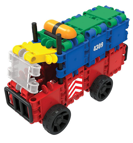 Bucket 8 in 1-160/pcs Bucket Building Blocks By Clics - Bloxx Toys - Toronto Online Toys Store - 14