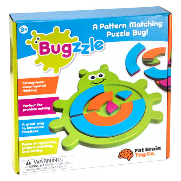 Bugzzle Educational Puzzle By Fat Brain Toys | BloxxToys