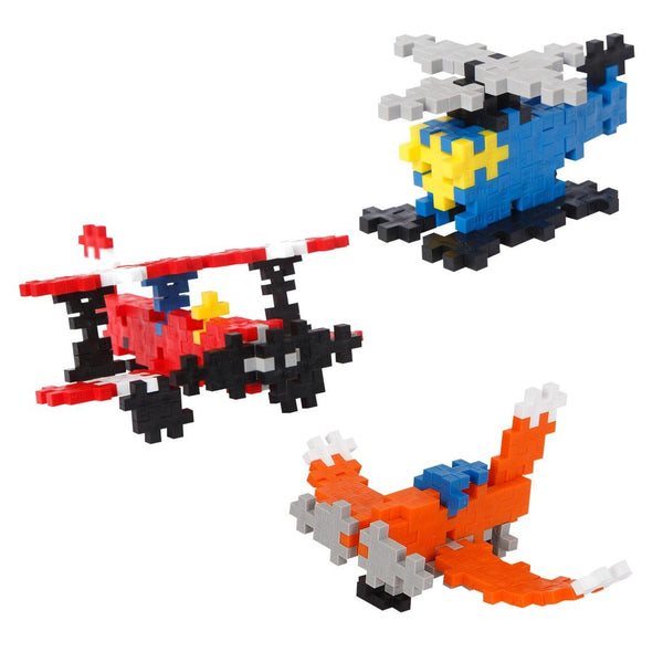 Building Blocks Mini Basic Air Craft 170 pcs By Plus-Plus- Bloxx Toys - Toronto - Educational Online Toys Store Canada