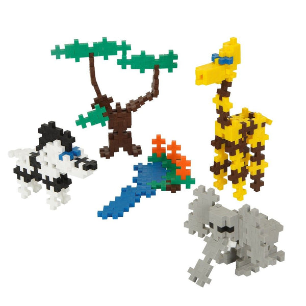 Building Blocks Mini Basic Safari 170 pcs By Plus-Plus- Bloxx Toys - Toronto - Educational Online Toys Store Canada