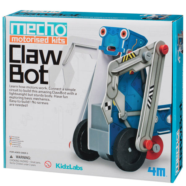 Claw Bot Moving Robotic Toy - by 4M - Bloxx Toys - Toronto Online Toys Store - 4