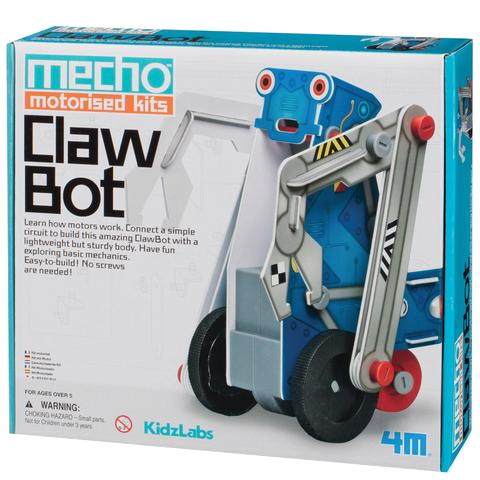 Claw Bot Moving Robotic Toy - by 4M - Bloxx Toys - Toronto Online Toys Store - 1
