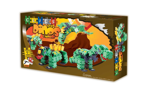 DINOS Building Blocks Set By Clics - Bloxx Toys - Toronto Online Toys Store - 1