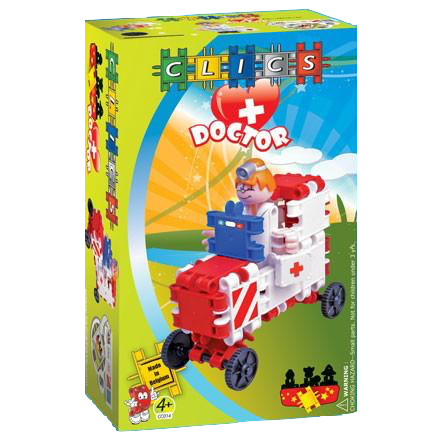DOCTOR Building Blocks Set By Clics - Bloxx Toys - Toronto Online Toys Store - 1