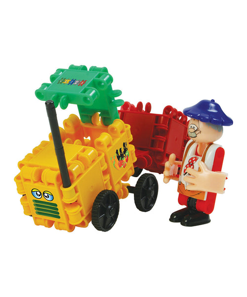 Farmer Building Blocks Set By Clics - Bloxx Toys - Toronto Online Toys Store - 3