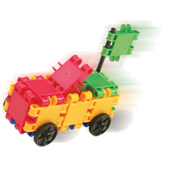 Funny Wheelers Building Blocks Set By Clics - Bloxx Toys - Toronto Online Toys Store - 10
