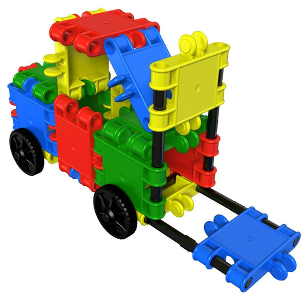 Funny Wheelers Building Blocks Set By Clics - Bloxx Toys - Toronto Online Toys Store - 11