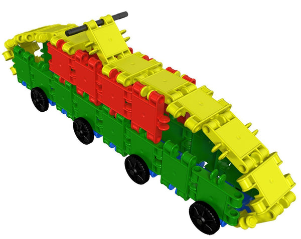 Funny Wheelers Building Blocks Set By Clics - Bloxx Toys - Toronto Online Toys Store - 6