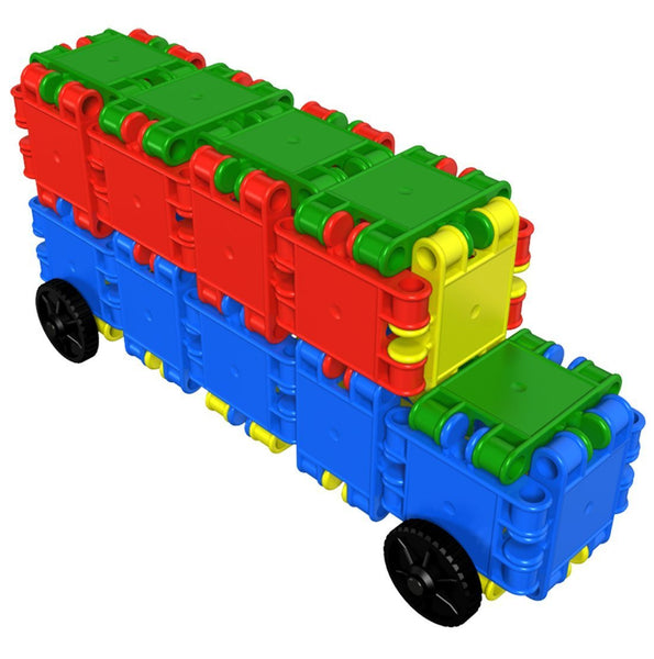 Funny Wheelers Building Blocks Set By Clics - Bloxx Toys - Toronto Online Toys Store - 7