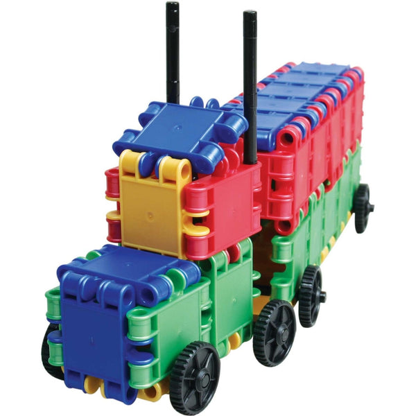 Funny Wheelers Building Blocks Set By Clics - Bloxx Toys - Toronto Online Toys Store - 2