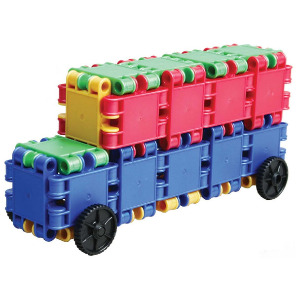 Funny Wheelers Building Blocks Set By Clics - Bloxx Toys - Toronto Online Toys Store - 8