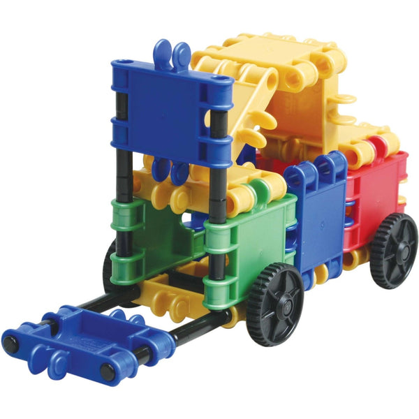 Funny Wheelers Building Blocks Set By Clics - Bloxx Toys - Toronto Online Toys Store - 3