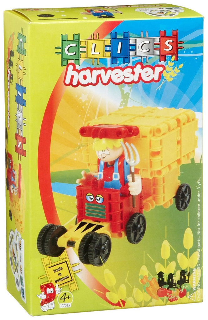 Harvester Building Blocks Set By Clics - Bloxx Toys - Toronto Online Toys Store - 1