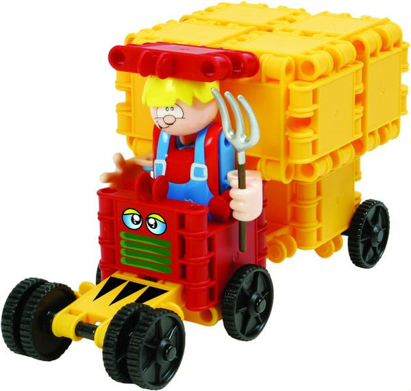 Harvester Building Blocks Set By Clics - Bloxx Toys - Toronto Online Toys Store - 2