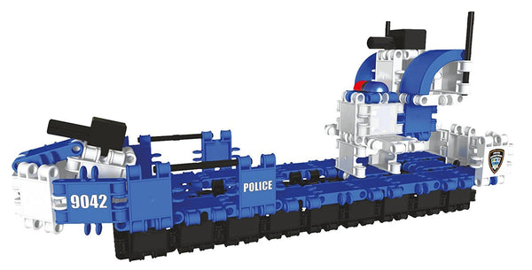 Hero Squad Police Building Blocks Set By Clics #BC001 - Bloxx Toys - Toronto Online Toys Store - 4