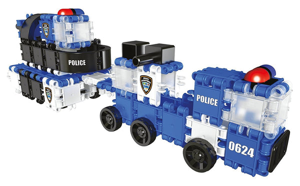 Hero Squad Police Building Blocks Set By Clics #BC001 - Bloxx Toys - Toronto Online Toys Store - 6