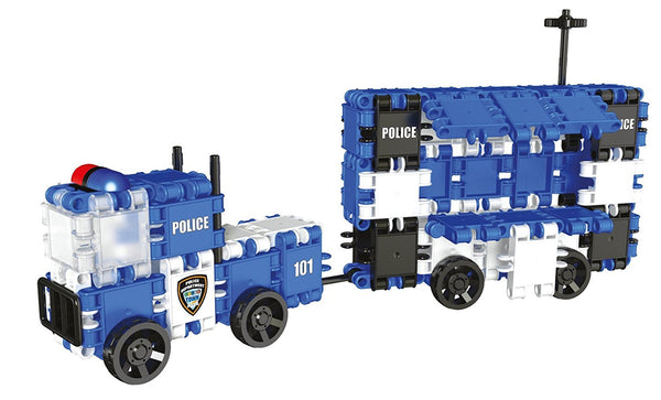 Hero Squad Police Building Blocks Set By Clics #BC001 - Bloxx Toys - Toronto Online Toys Store - 7