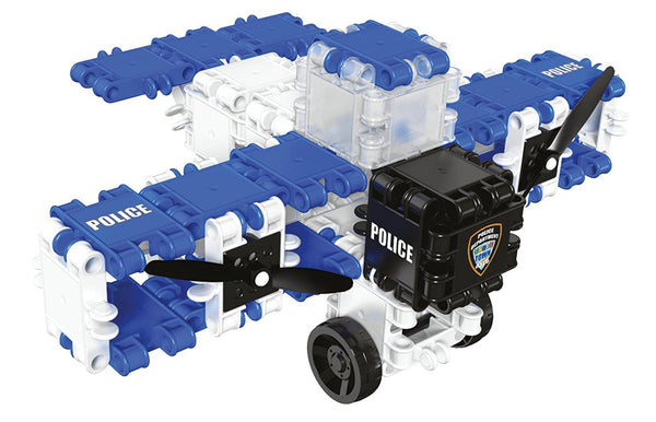 Hero Squad Police Building Blocks Set By Clics #BC001 - Bloxx Toys - Toronto Online Toys Store - 8