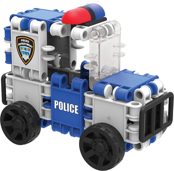 Hero Squad Police Building Blocks Set By Clics #BC001 - Bloxx Toys - Toronto Online Toys Store - 3