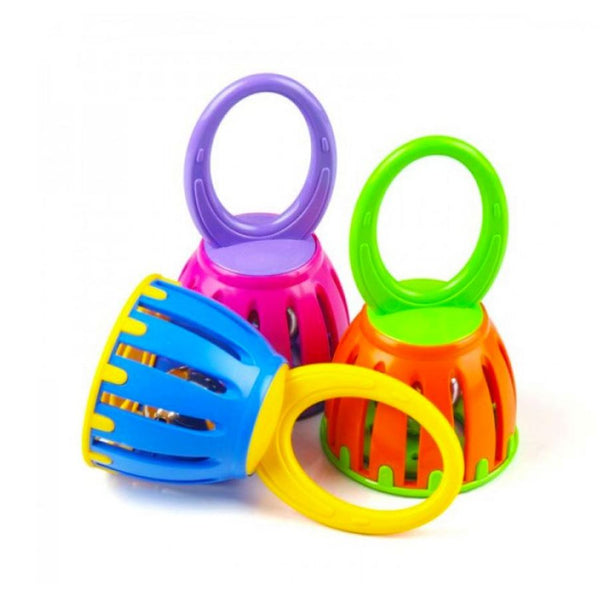 Cage Bell Assorted By Halilit - Bloxx Toys - Toronto, Montreal, Vancouver, Kids, Baby Toys, Shopping online, Ontario, Quebec, - Educational Online Toys Store Canada