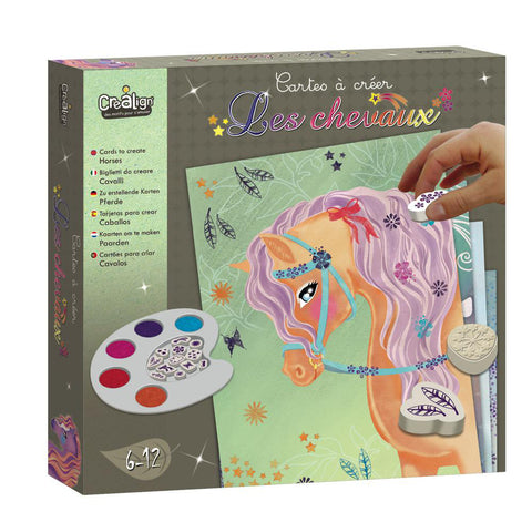 Cards to Create - Horses By Crealign | BloxxToys Canada
