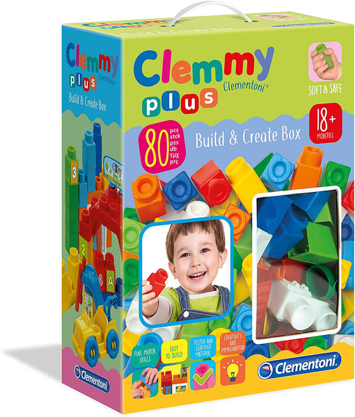 Clemmy Plus Build and Create Box By Clementoni | BloxxToys