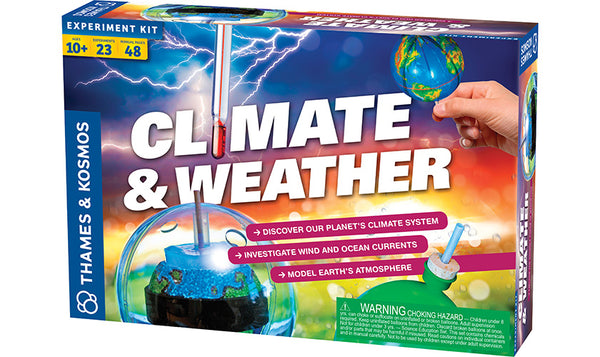 Climate & Weather By Thames & Kosmos - Bloxx Toys - Toronto, Montreal, Vancouver, Alberta, Edmonton, Kids, Parents, Present, Shopping online, Ontario, Quebec, - Educational Online Toys Store Canada