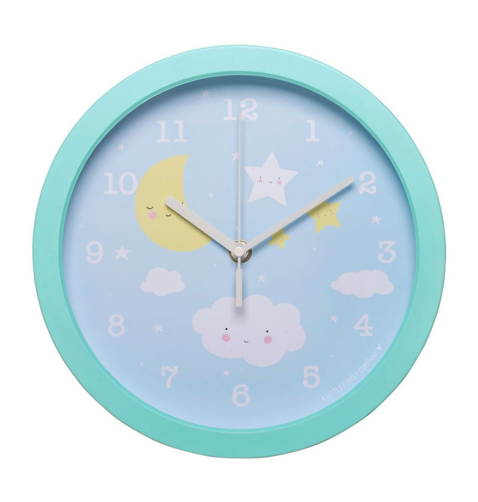 Clock Cloud By Little Lovely -Bloxx Toys-Toronto toys, toy, Canada, Decor, Room Decor, Autism Toys, Ontario toys, Quebec toys, Children Toys,Kids Toys,Educational toys, Online Toys Store Canada