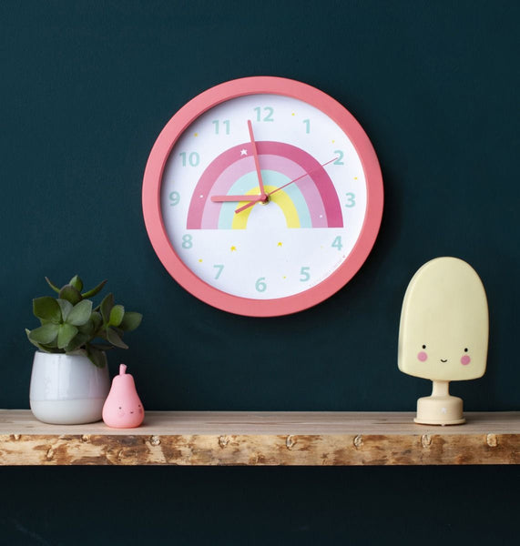 Clock Rainbow By Little Lovely -Bloxx Toys-Toronto toys, toy, Canada, Decor, Room Decor, Autism Toys, Ontario toys, Quebec toys, Children Toys,Kids Toys,Educational toys, Online Toys Store Canada