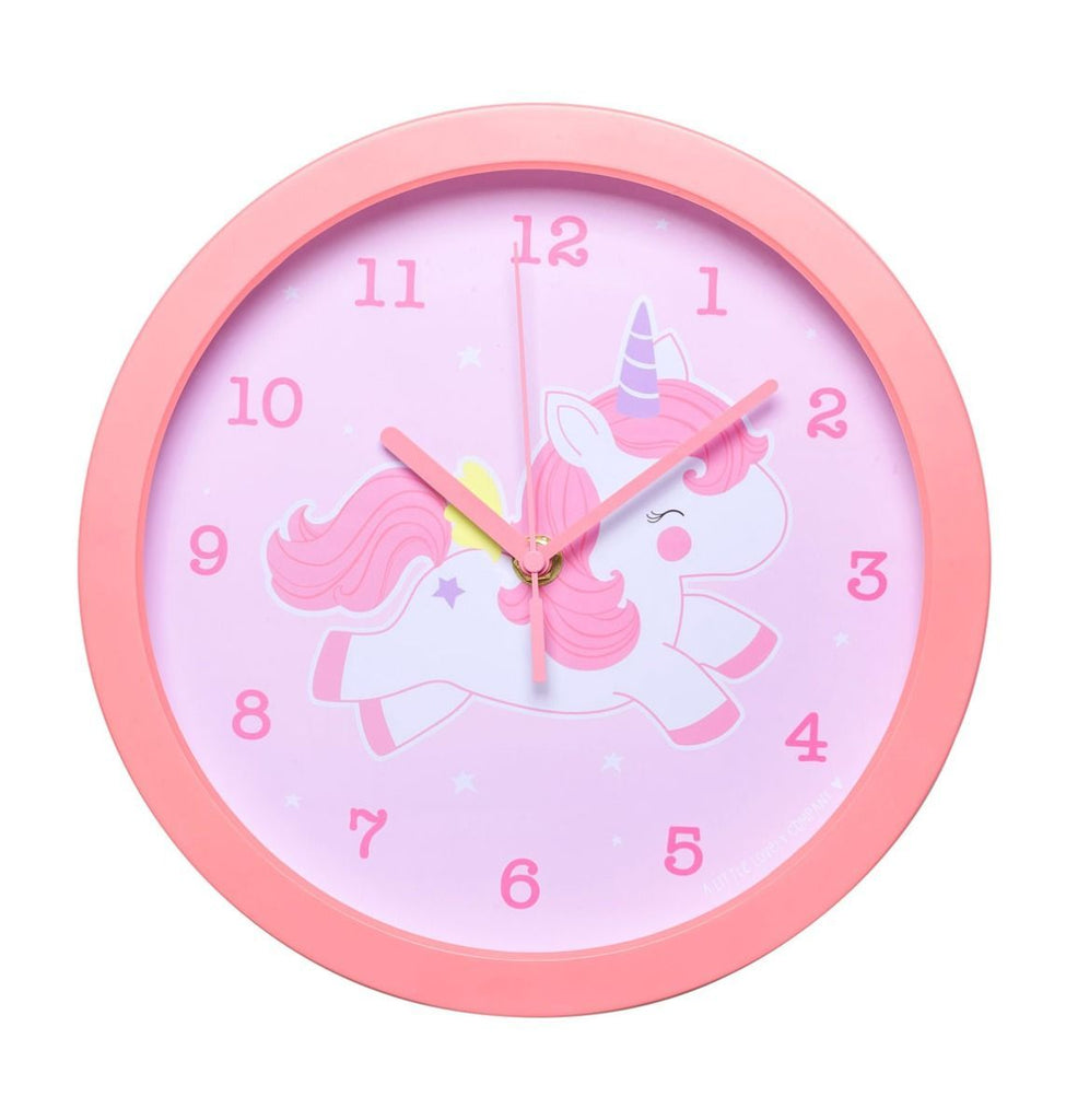 Clock Unicorn By Little Lovely -Bloxx Toys-Toronto toys, toy, Canada, Decor, Room Decor, Autism Toys, Ontario toys, Quebec toys, Children Toys,Kids Toys,Educational toys, Online Toys Store Canada