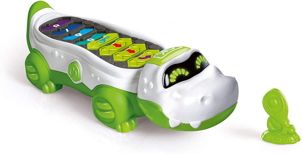 Coko Programmable Crocodile Robot Bilingual By Clementoni