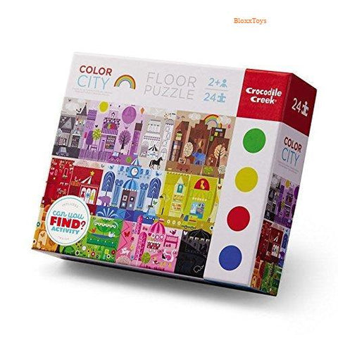 Color City Early Learning Puzzle-24 pcs Bloxx Toys-Toronto toys, toy,AutismToys Montreal toys, Alberta toys, Ontario toys, Quebec toys, Children Toys,Kids Toys,Educational toys Online Toys Store Canada