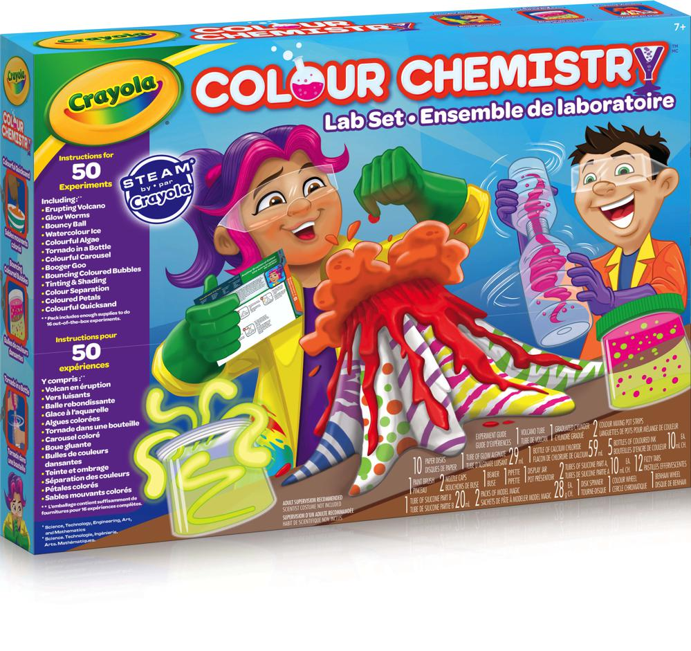 Colour Chemistry Lab Set By Crayola | Science Toys Canada
