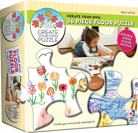 Create Your Own Floor Puzzle 36 Piece By Cobble Hill - Bloxx Toys - Toronto - Educational Online Toys Store Canada